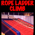 florida arcade game inflatable rope ladder climb